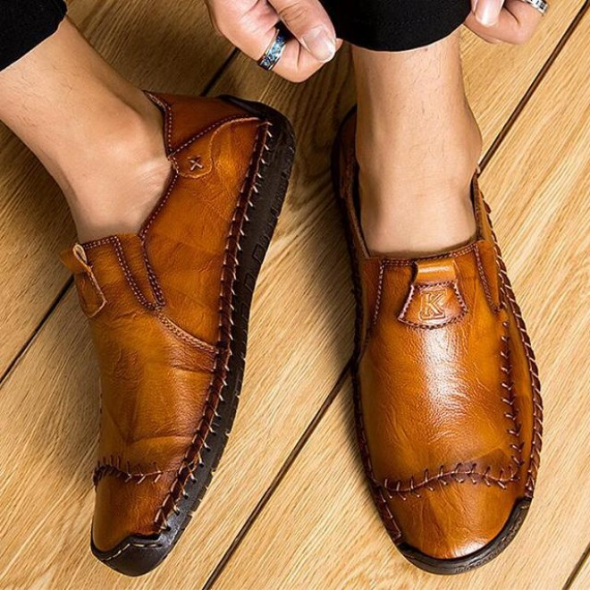 Arrival Men's Fashion Sewing Casual Business Flats Shoes