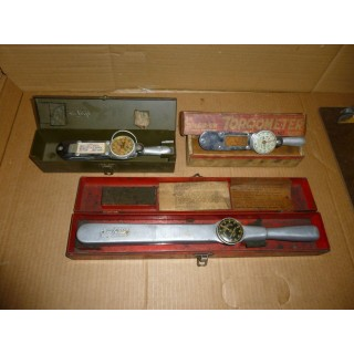 3, Vintage Snap on Torqometer, Automotive, Torque wrench, Measuring, Tools, Used