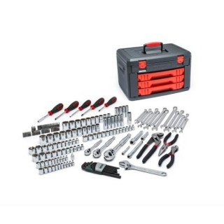 143 pc GearWrench Hand tool 1/4 in 3/8 in. Drive Mechanics automotive Tools Set