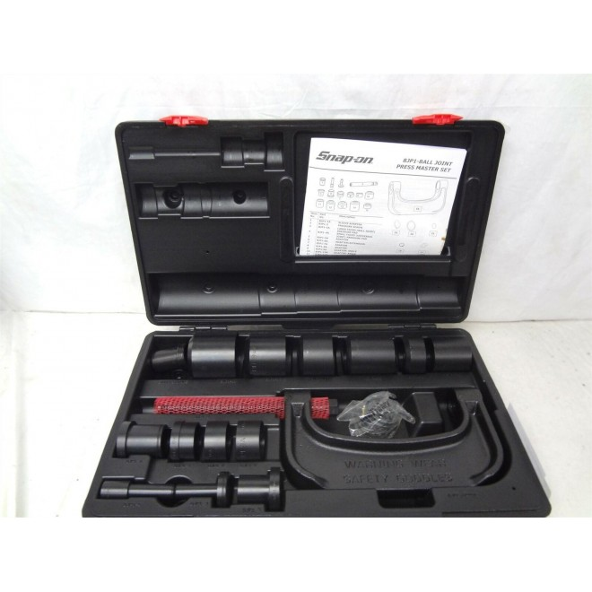 Snap On Tools BJP1 BJP 1 Master Ball Joint Universal Joint Press Tool Set
