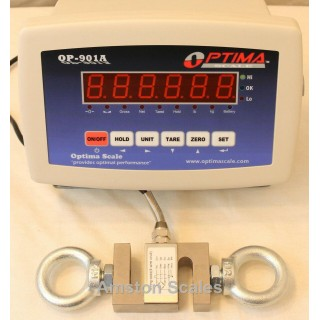 1000 x .2 LB S-TYPE LOAD CELL SPRING TESTER CAR SCALE CALIBRATED COMPRESSION LED