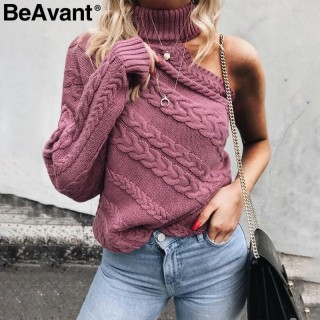 2021 Sexy One Shoulder Off Casual Pullover  er (Buy 1 for 5% off! Buy 2 for 10% off )