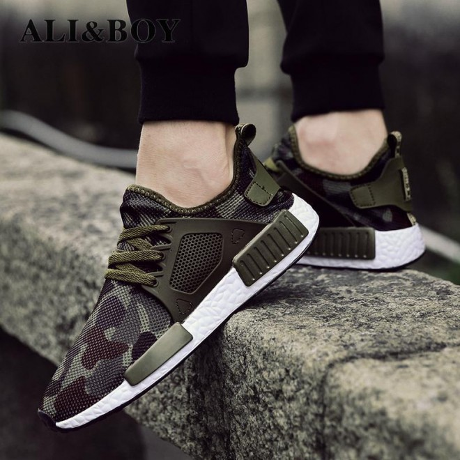 Outdoor Military Camouflage Casual Shoes