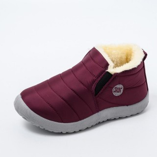 2021 Winter Warm Pl h Ladies Flat Casual Shoes